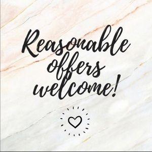 Reasonable offers Welcome.